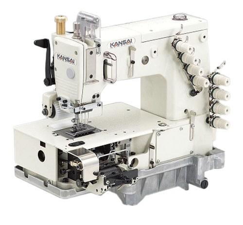 KANSAI-SPECIAL mitmenõela masin valgel taustal